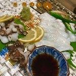 宮がみ屋 - 和泉タコのお造り