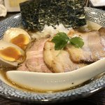 麺屋武平 - 淡口にぼしそば(全のせ)