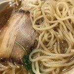麺屋武平 - 麺はこんな感じ