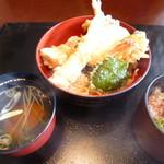 つる兵衛 - 料理写真:天丼セット1290円(税別)