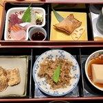 かっぽう家ぶしん - 料理写真:ぶしん定食 1350円 2018/08/15