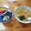 六太郎食堂 - 料理写真:カツ丼セット(半ラーメンセット)1,050円