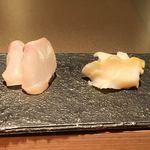寿司 さ々木 - あら、バイ貝