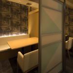 鮨竜 - 内観写真:個室は4部屋ご用意しております