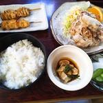 鳥料理 杉本 - 鶏定食(1,100円)