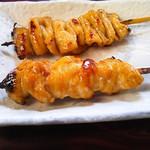 鳥料理 杉本 - 鶏定食の焼鳥