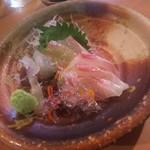 海活楽宴 きゅんとや - 鯛のお刺身