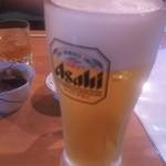 海活楽宴 きゅんとや - 生ビール