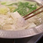 日本料理 黒潮 - 鱧しゃぶしゃぶ