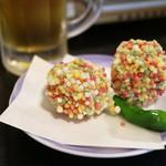 日本料理 黒潮 - またも張り切っての登場の「海老真丈」、インスタ映え狙い?