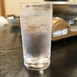 日本料理 黒潮 - 芋水割り(銘柄不明)