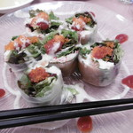 洋食ビストロ ドンピエールハート - 生春巻き