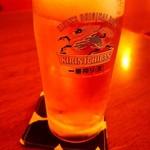 90956630 - 生ビール(一番搾り)560円