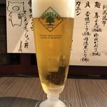 柳麺 呉田 - 「生ビール」450円