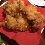 ビストロ カルネジーオ - とうもろこしと枝豆のフリット