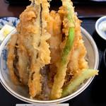 食事処 みしまや - 料理写真:あなご天丼(\1,680)