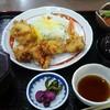 道の駅 原尻の滝 レストラン白滝 - 料理写真:鳥天定食 900円