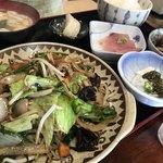 のざき - 野菜炒め定食