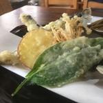 三四郎 - にしん天ぷら盛り合わせ