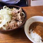 90961390 - 肉うどん+小カレー
