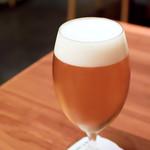 東京竹葉亭 - 生ビール