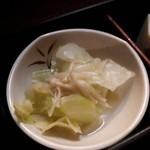和食Dining うお座 - キャベツの漬物