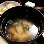 和食Dining うお座 - 味噌汁
