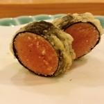 天ぷら料理 さくら - 明太子 海苔巻き