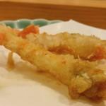 天ぷら料理 さくら - ボタン海老