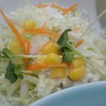 重松飯店 - まんぷくセット サラダ