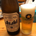 中華そば HIRO - 瓶ビール500円