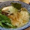 麺庄 - 料理写真:海老ワンタンめん(201808)