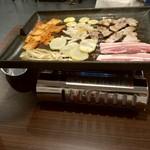 韓国料理 ハンアリ - サムギョプサル