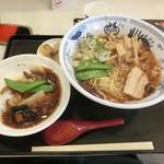 中華万里 - ラーメンとミニ中華丼900円