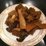 90969960 - かけ麺のトッピング:干し豆腐