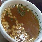 9097175 - ランチのスープ(この日はコンソメ)