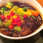 エブラック - 牛すじ野菜スープカレー