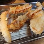 天ぷら さいとう 博多 - さいとう定食天ぷら後半