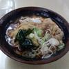 肥後一文字や - 料理写真:豚天そば(360円)+生卵(80円)