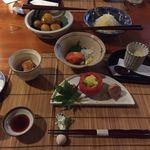 住吉屋 - 料理写真:ゆうはん取り回し鉢