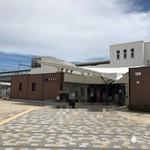 姫路警察署 署員食堂 厨房「アントレ」 - JR東姫路駅に到着 ※2016年に開業したばかりの新しい駅
