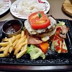 トマト&オニオン - メガトンハンバーグ