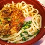 かつさと - 料理写真:かき揚げうどん(443円)