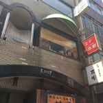 辛来飯 - お店は、2階にあります。(2018.8 byジプシーくん)