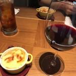 90976503 - 烏龍茶&ワイン