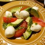 グッドスプーン - トマトとアボカドのカプレーゼ