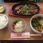 野瀬 - 料理写真:鉄板焼肉定食