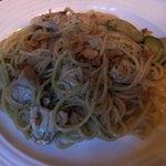 KISHIWADA - ●まぐろとズッキーニのガーリックオイルパスタ●ガーリックが効いたものが食べたかった!美味しい!