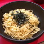 横浜家系ラーメン 志田家 - 酒井製麺の麺、1.5玉