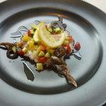 シバリス - イイダコトリ貝のビネガーソース